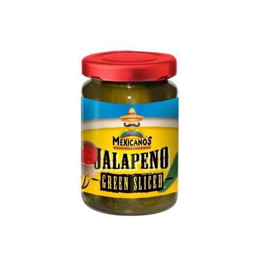Jalapeño Green Sliced